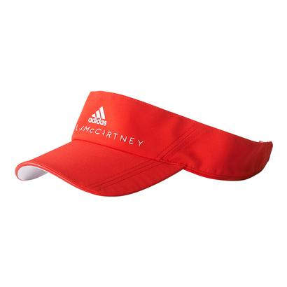 Women`s Stella McCartney Tennis Visor Core Red and White