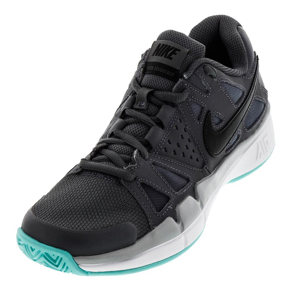 Men's Air Vapor Advantage Tennis Shoes Dark Gray And Wolf Gray