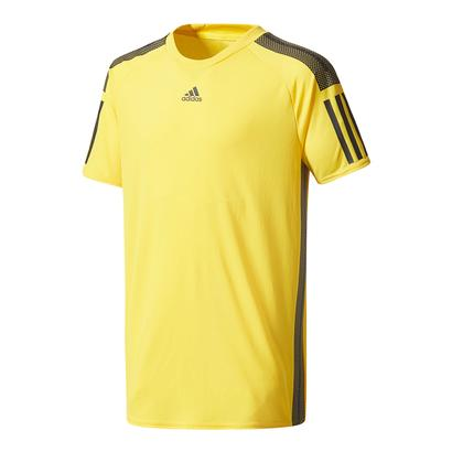 Boys` Barricade Tennis Tee Eqt Yellow and Black