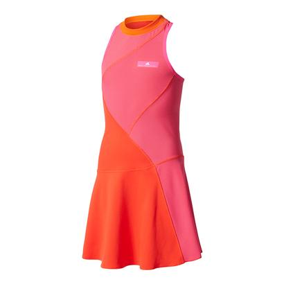 Girls` Stella McCartney Barricade Tennis Dress Core Red and Shock Pink