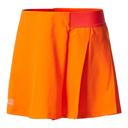 Girls` Stella McCartney Barricade Tennis Skirt Radiant Orange and Core Red