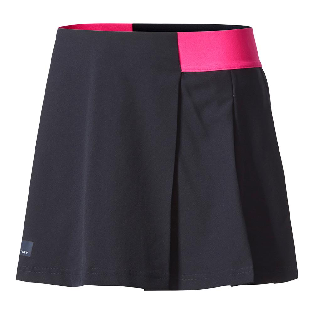 Girls'stella Mccartney Barricade Tennis Skirt Legend Blue And Shock Pink