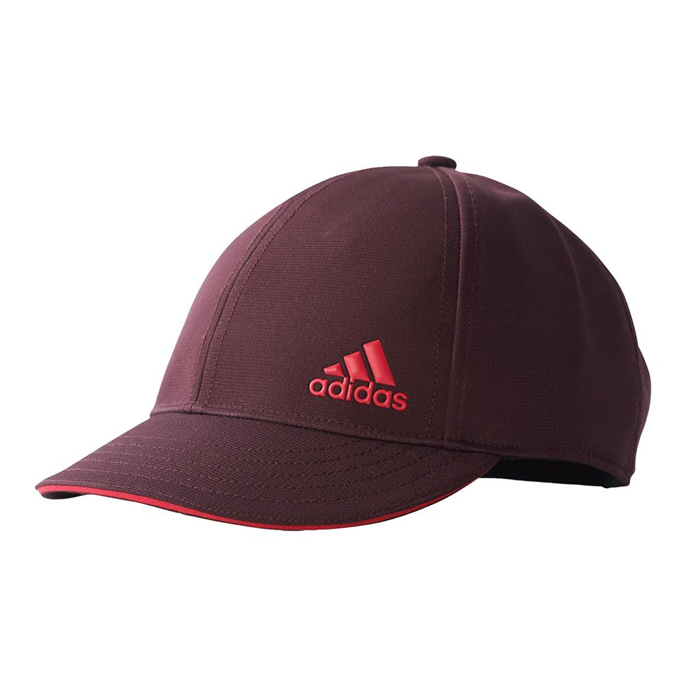Women's Climalite Tennis Cap Dark Burgundy And Energy Pink