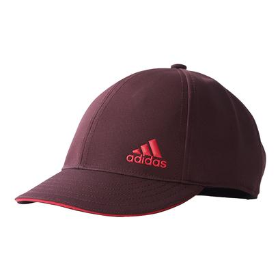 Women`s Climalite Tennis Cap Dark Burgundy and Energy Pink