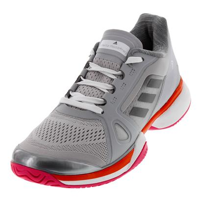Women`s aSMC Barricade 2017 Tennis Shoes Solid Gray and White