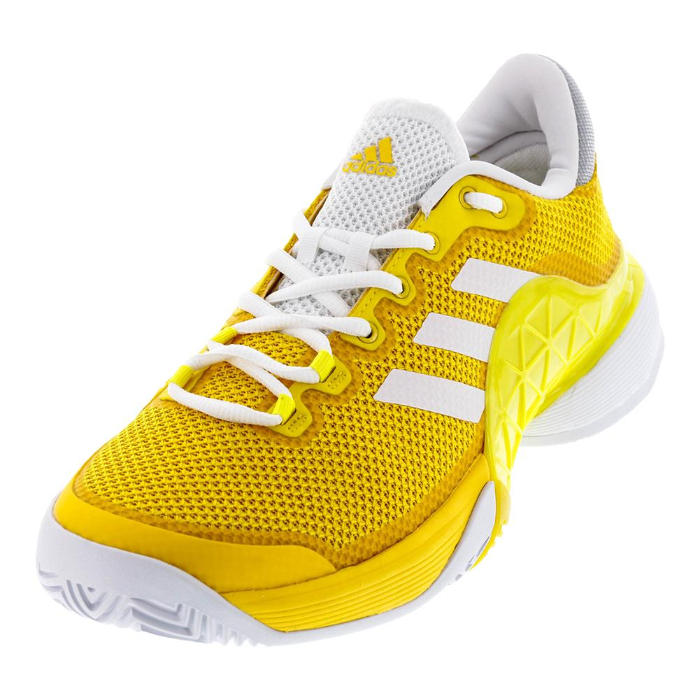 Men's Barricade 2017 Tennis Shoes Eqt Yellow And White