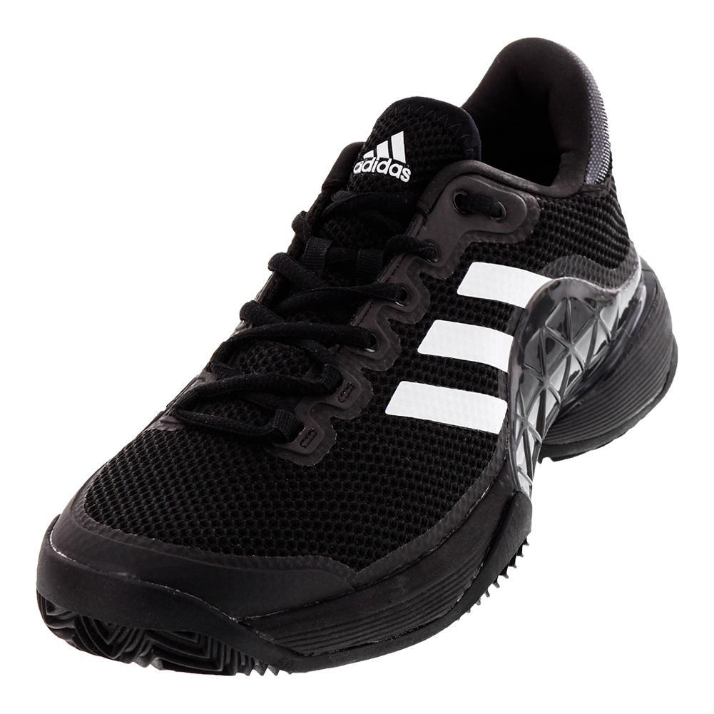 Adidas-Men  S Barricade 2017 Clay теннисные туфли черный и ночью ... b684a13bd7b9