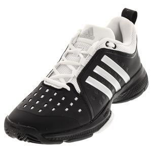 Men`s Barricade Classic Bounce Tennis Shoes Core Black and Silver
