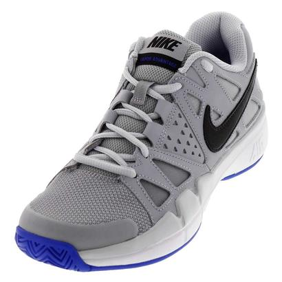 Women`s Air Vapor Advantage Tennis Shoes Wolf Gray and Pure Platinum