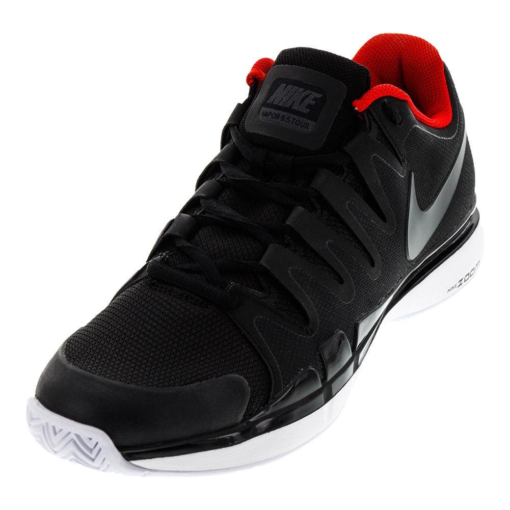 Men's Zoom Vapor 9.5 Tour Tennis Shoes Black And Anthracite