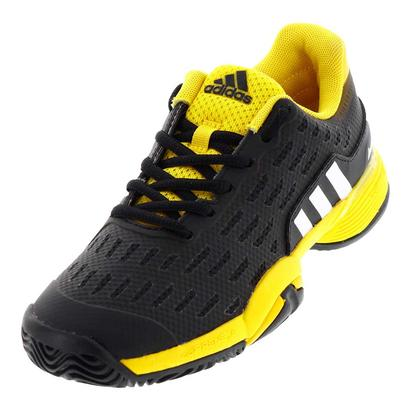 Juniors` Barricade Tennis Shoes Core Black and Eqt Yellow