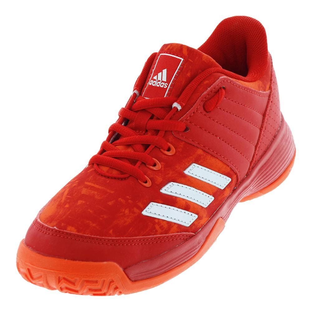 Juniors ` Ligra 5 Tennis Shoes Scarlet And Energy