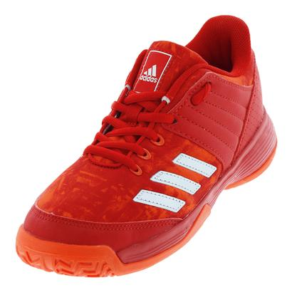 Juniors` Ligra 5 Tennis Shoes Scarlet and Energy