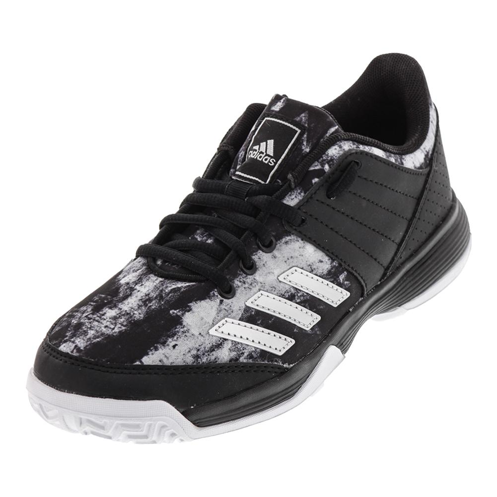 Juniors ` Ligra 5 Tennis Shoes Black And Silver Metallic