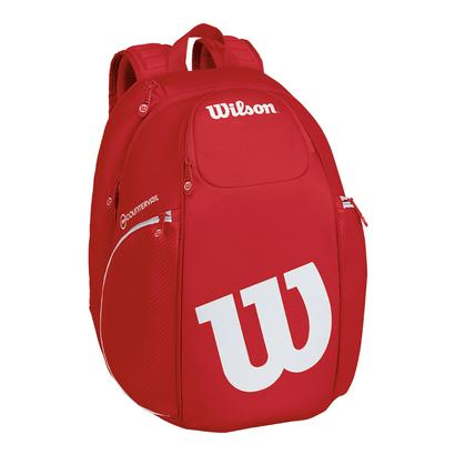 Pro Staff Tennis Backpack Red and White