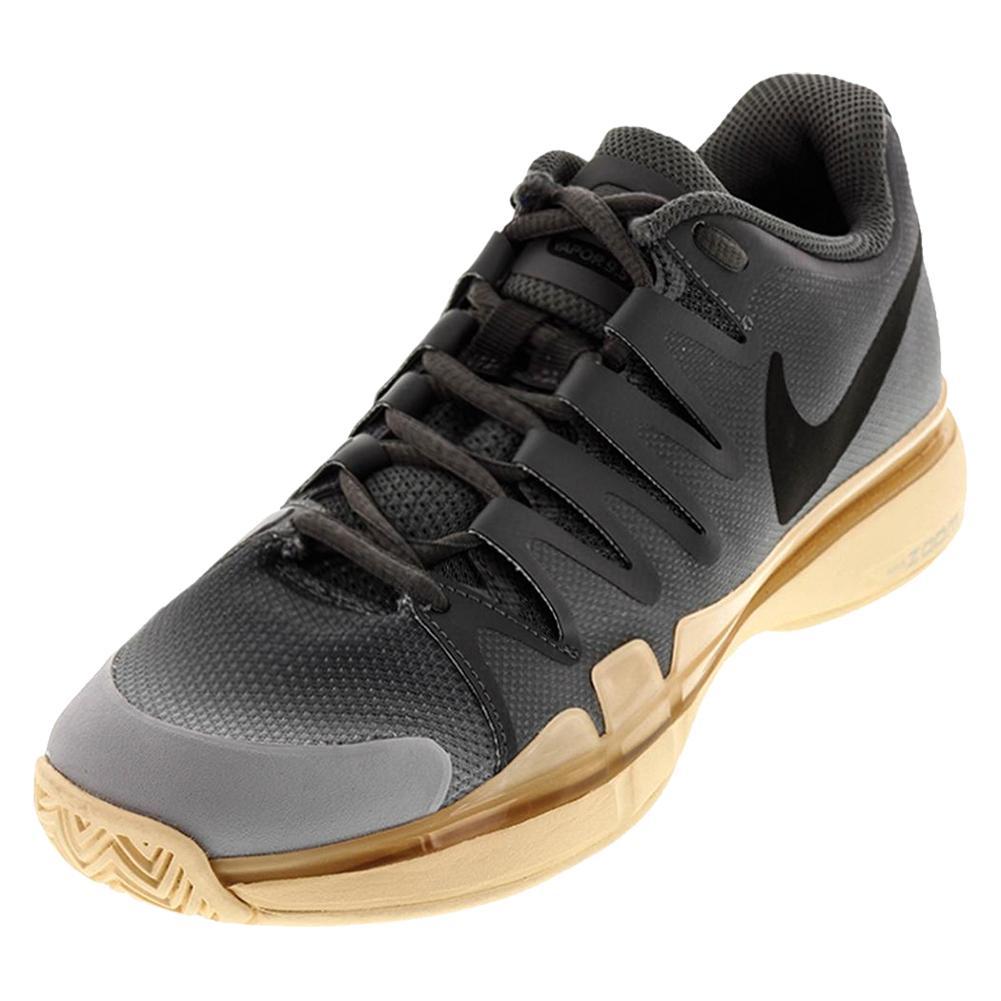 Women's Zoom Vapor 9.5 Tour Tennis Shoes Dark Gray And Black