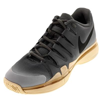 Women`s Zoom Vapor 9.5 Tour Tennis Shoes Dark Gray and Black