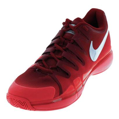 Women`s Zoom Vapor 9.5 Tour Tennis Shoes Team Red and Siren Red