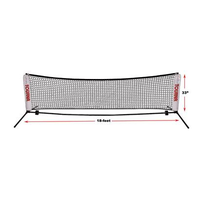Portable 18 Foot Tennis Net
