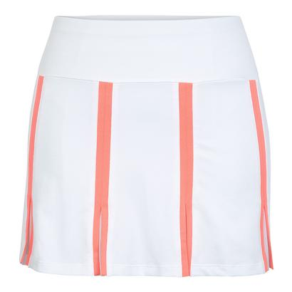 Women`s Netty 14.5 Inch Tennis Skort White