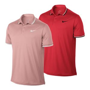 Men`s Court Solid Dry Tennis Polo