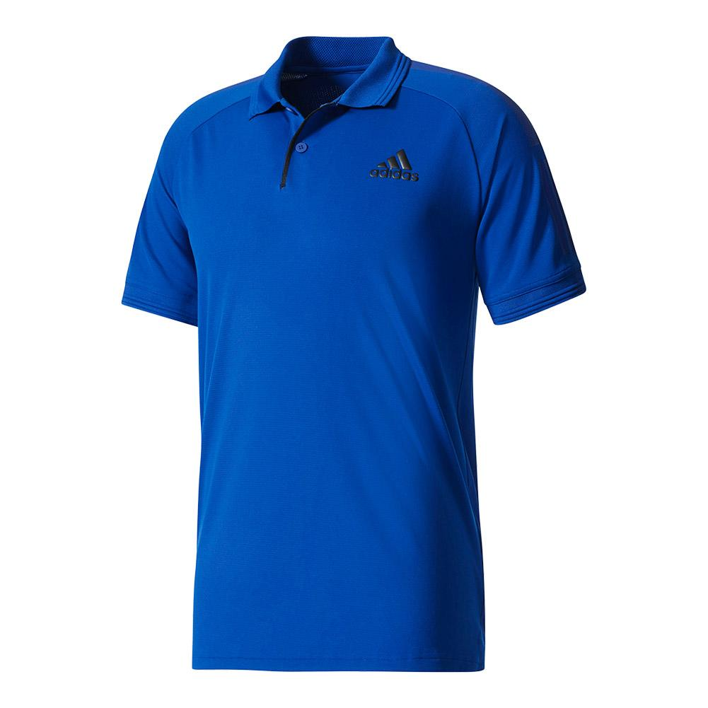Men's Barricade Tennis Polo Mystery Ink And Black