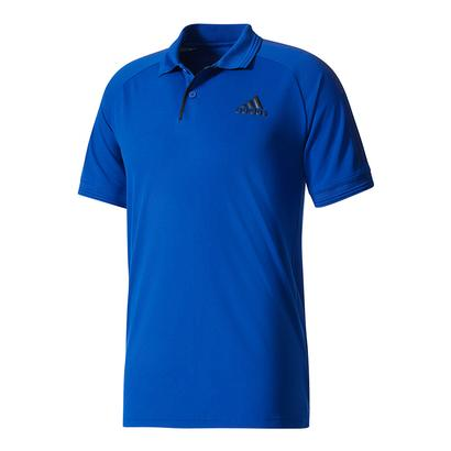Men`s Barricade Tennis Polo Mystery Ink and Black