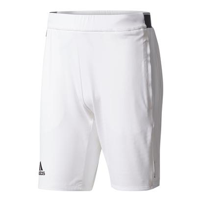 Men`s Barricade Tennis Short White and Black