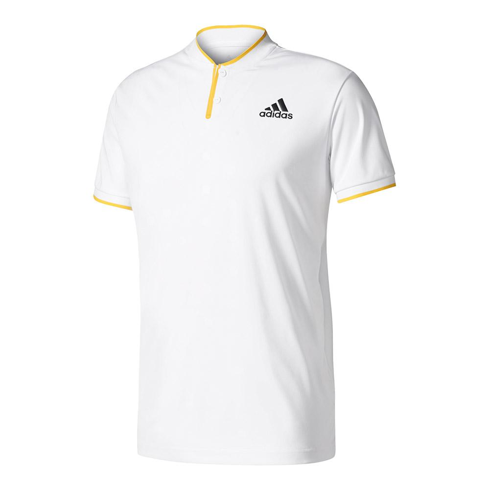 Men's London Series Tennis Polo White
