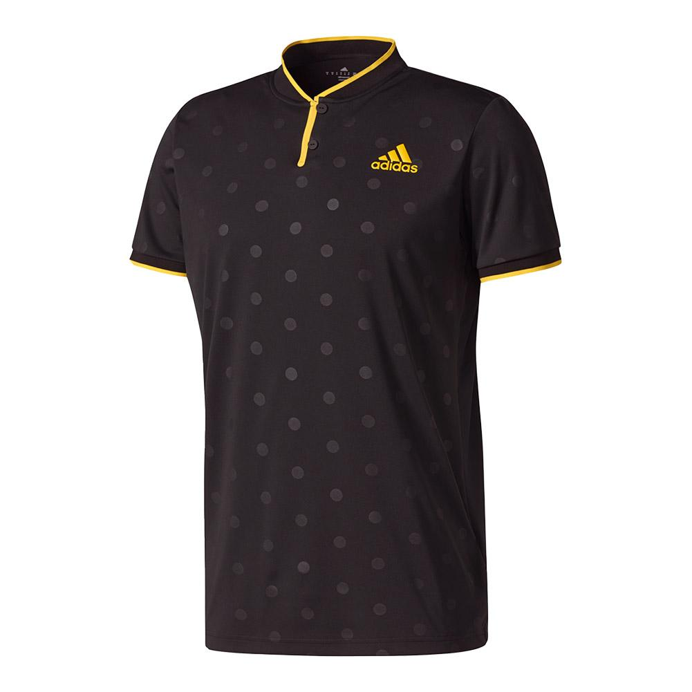 Men's Tennis Polo Black