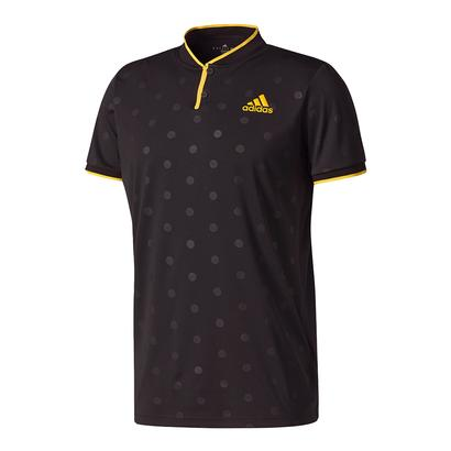 Men`s Tennis Polo Black