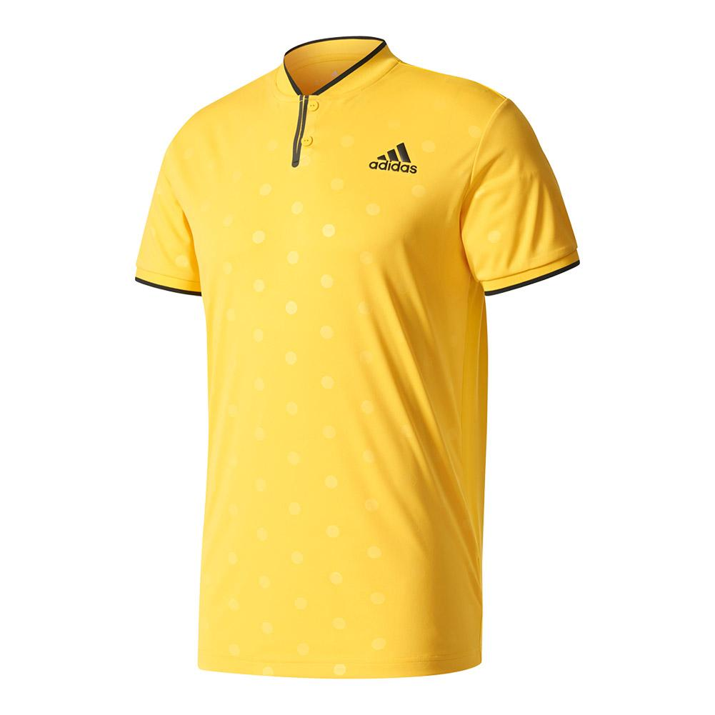 Men's Tennis Polo Eqt Yellow