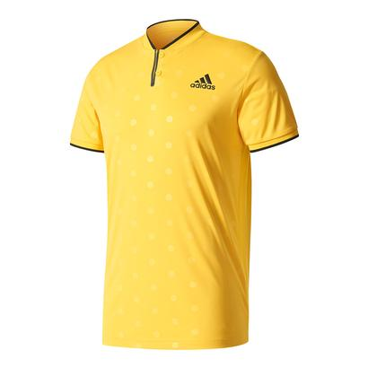 Men`s Tennis Polo Eqt Yellow