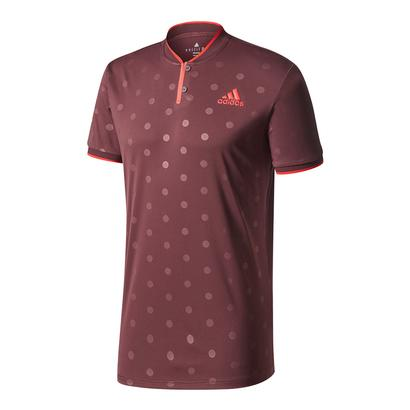 Men`s Tennis Polo Dark Burgundy