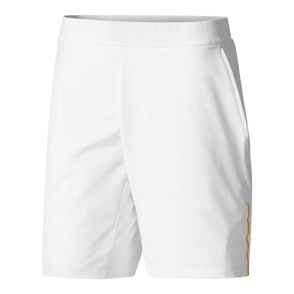 Men's London Series Tennis Short White