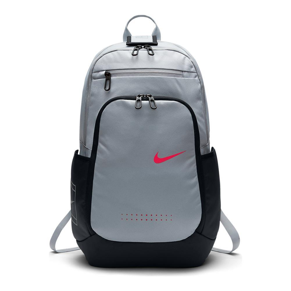 Tennis Court Tech 2.0 Backpack Wolf Gray And Black