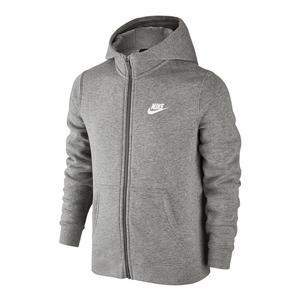 Boys` Sportswear Club Full Zip Hoodie