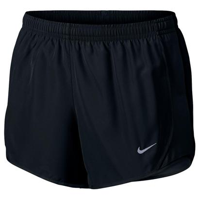 Girls` Dry Tempo Running Short Black