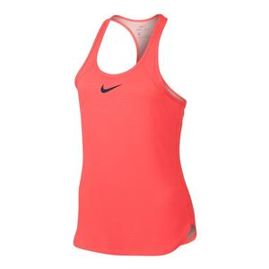 Girls` Dry Slam Tennis Tank
