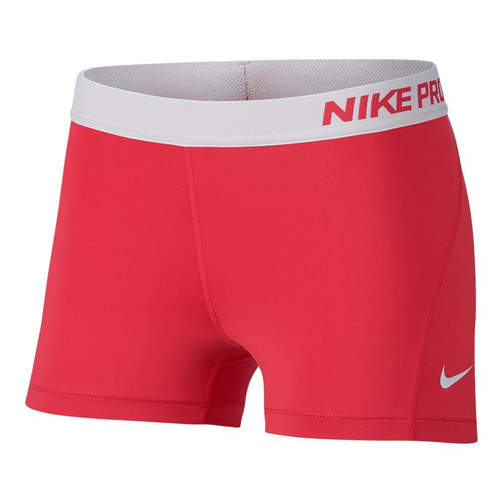 Women's Pro 3 Inch Short Light Fusion Red