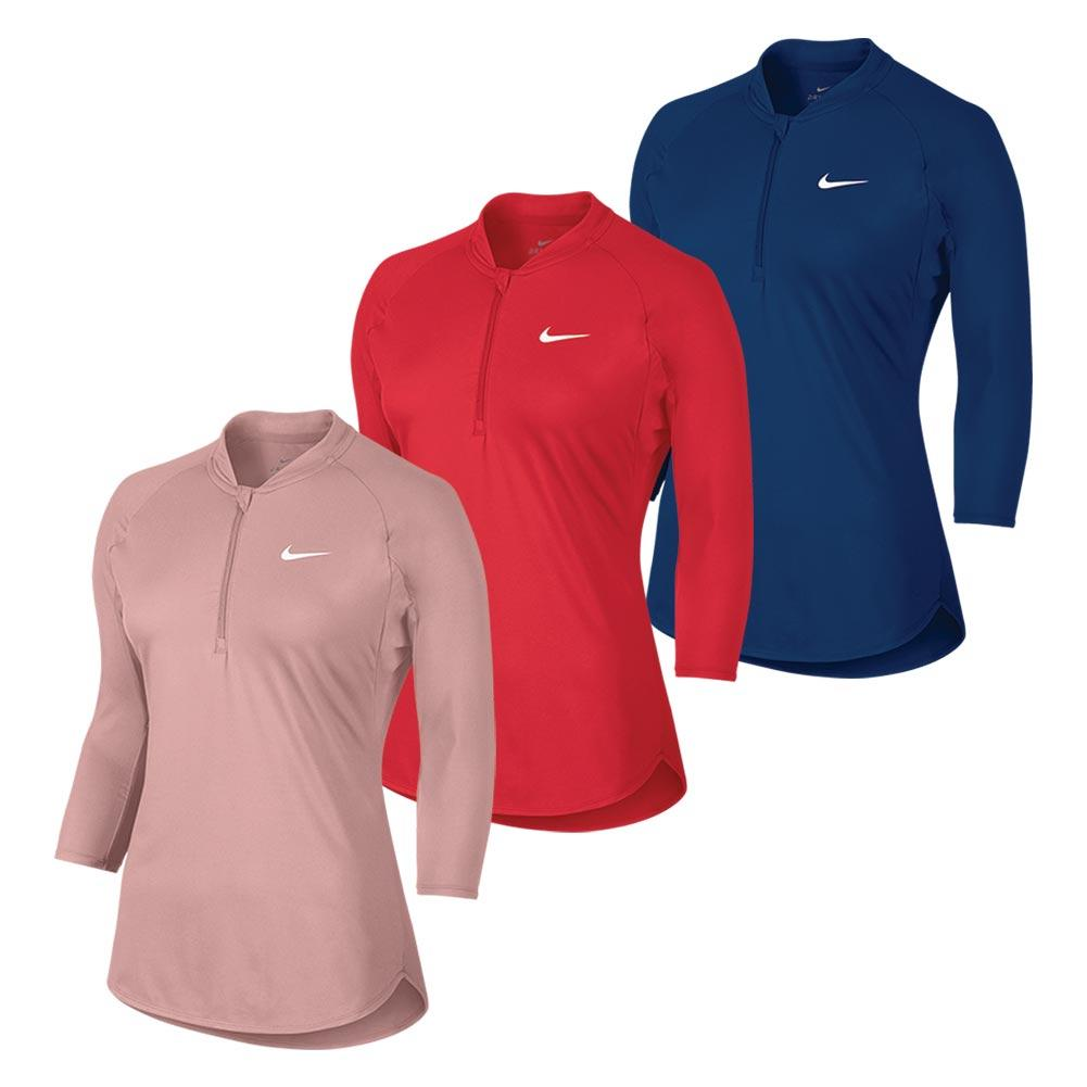 Women's Court Long Sleeve Dry Tennis Top