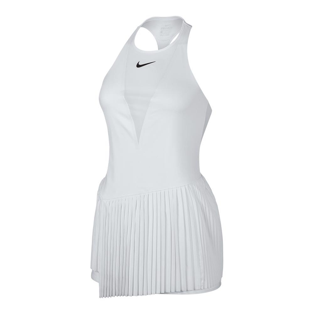 NIKE NIKE Women's Maria Court Power Tennis Dress White