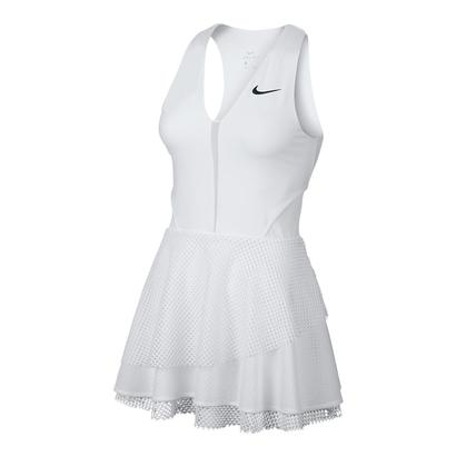 Women`s Serena Court Power Tennis Dress White