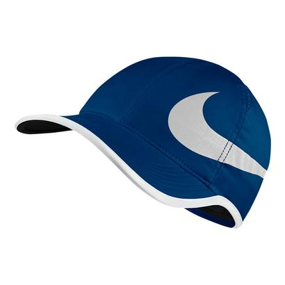 Aerobill Big Swoosh Featherlight Tennis Cap Blue Jay