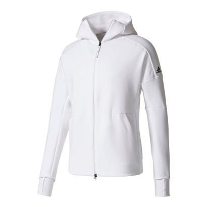 Men`s Zero Negative Energy Tennis Hoodie White
