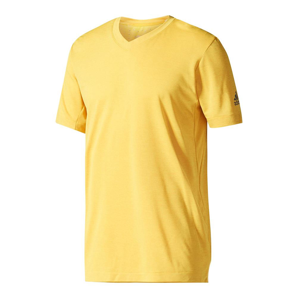 Men's Climachill Tennis Tee Eqt Yellow