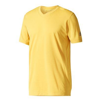 Men`s Climachill Tennis Tee Eqt Yellow