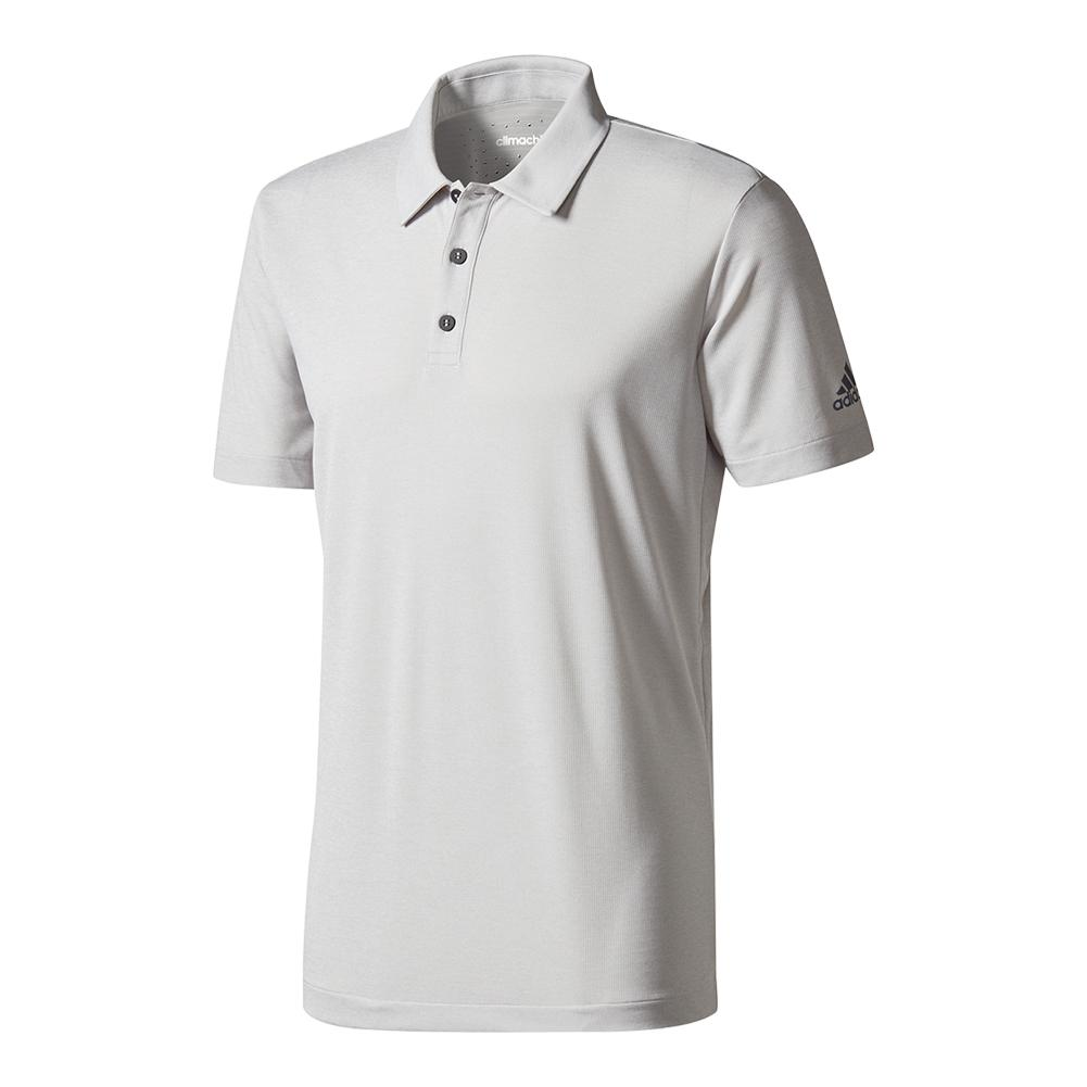 Men's Climachill Tennis Polo Gray