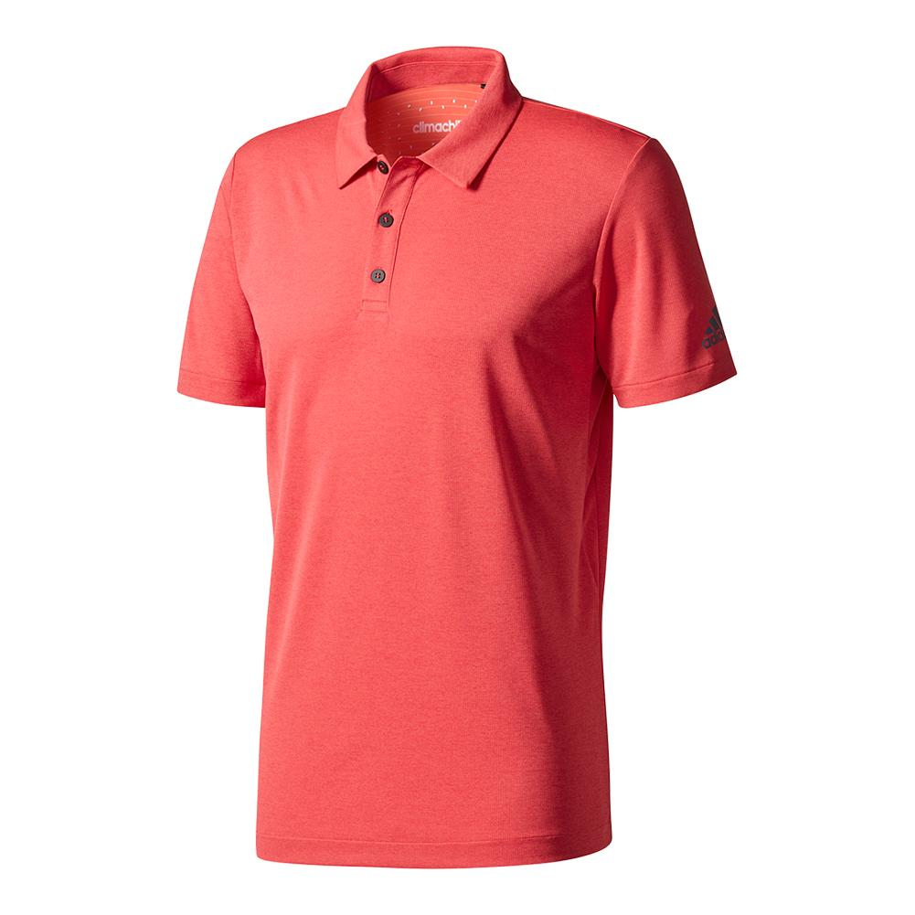 Men's Climachill Tennis Polo Scarlet
