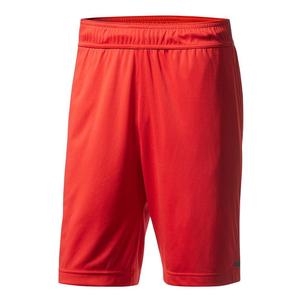 Men's Climachill 7.5 Inch Tennis Short Scarlet